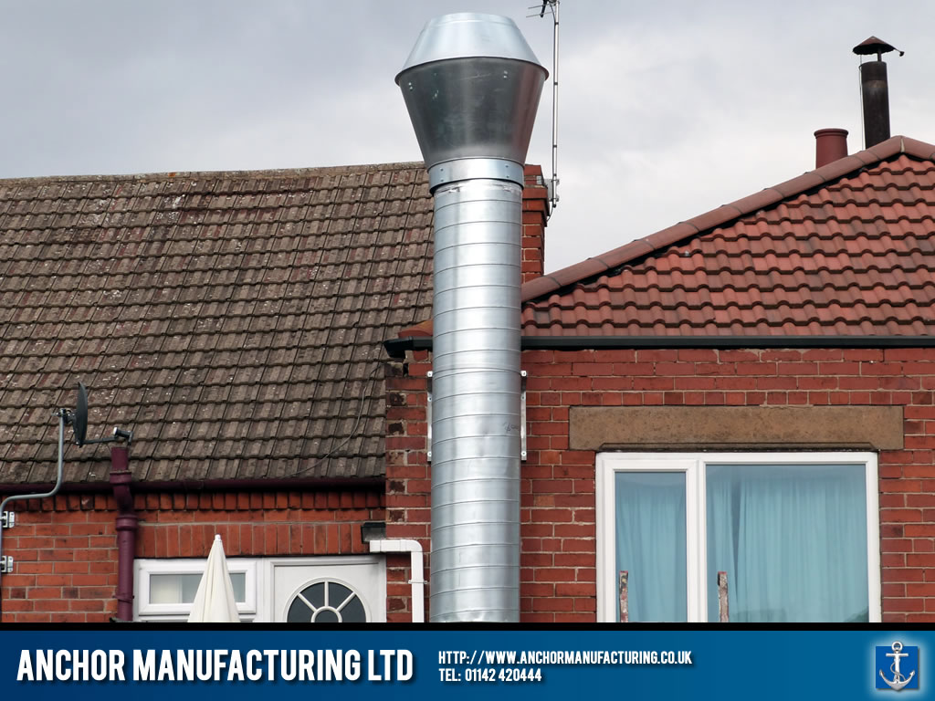 External Air Extraction Ducting And Silencer Anchor
