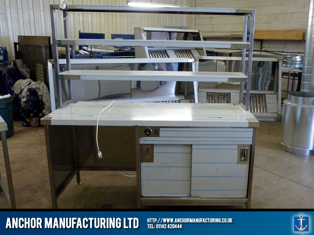 Catering Hot Cupboard Anchor Manufacturing Ltd
