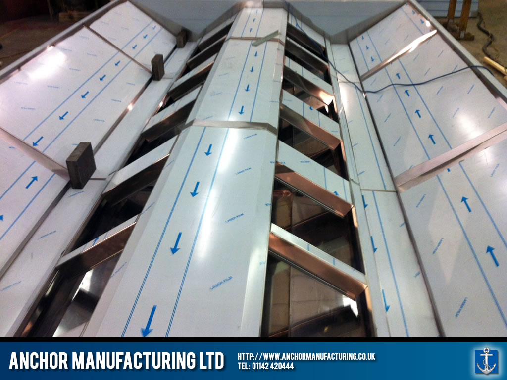 Industrial Kitchen Canopy Fabrication Anchor