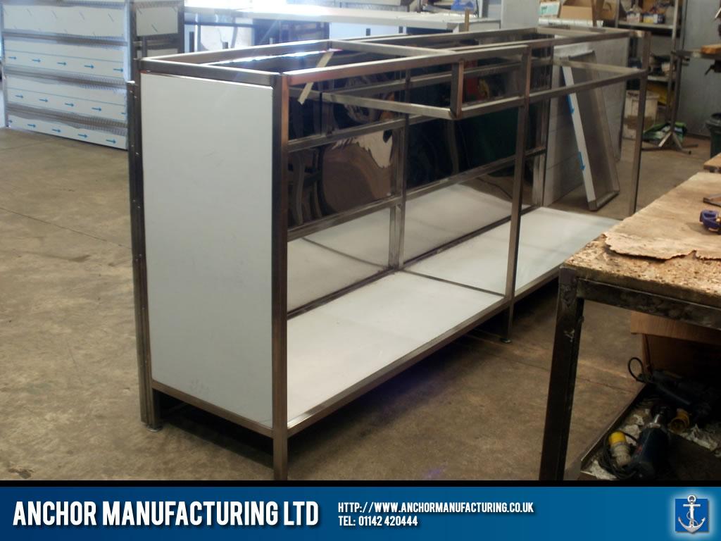 Sheffield Shop Counter Fabrication Anchor Manufacturing Ltd