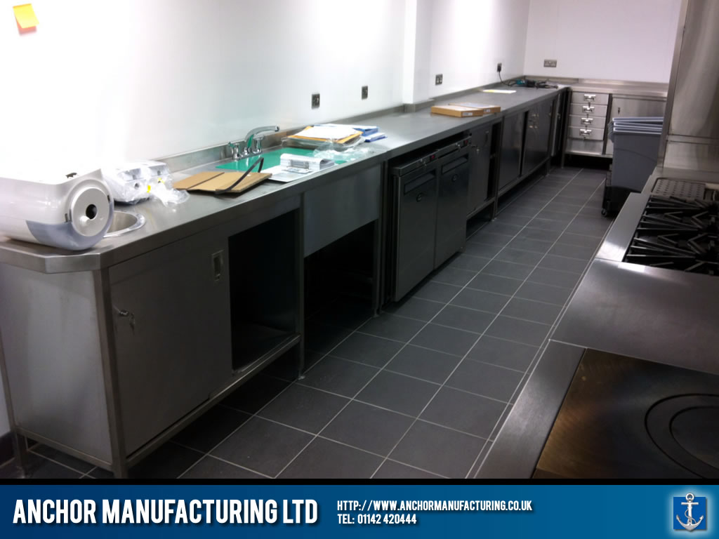 Industrial Sink Uk : ... sinks were also fabricated and installed in the commercial kitchen