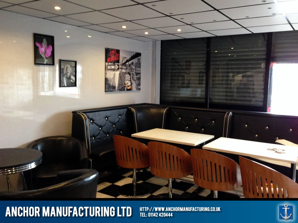 Sheffield American Diner Project Anchor Manufacturing Ltd