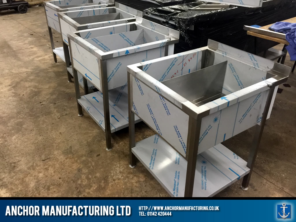 Anchor Manufacturing Ltd Stainless Steel Ice Wells