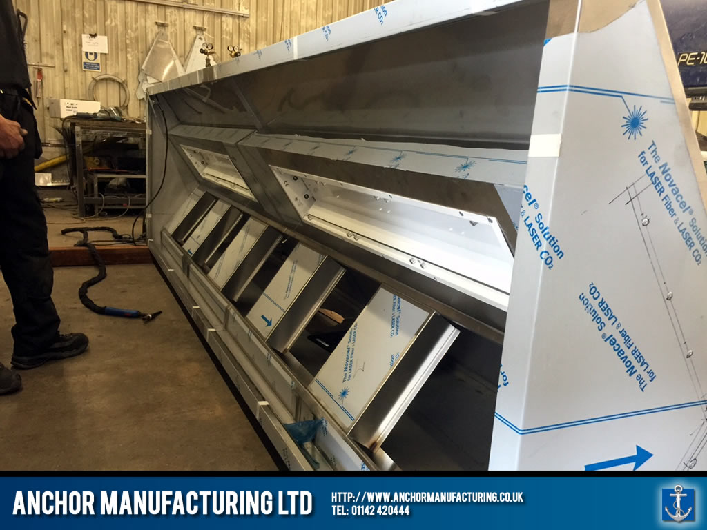 Sheffield Kitchen Canopy With Led Lighting Anchor
