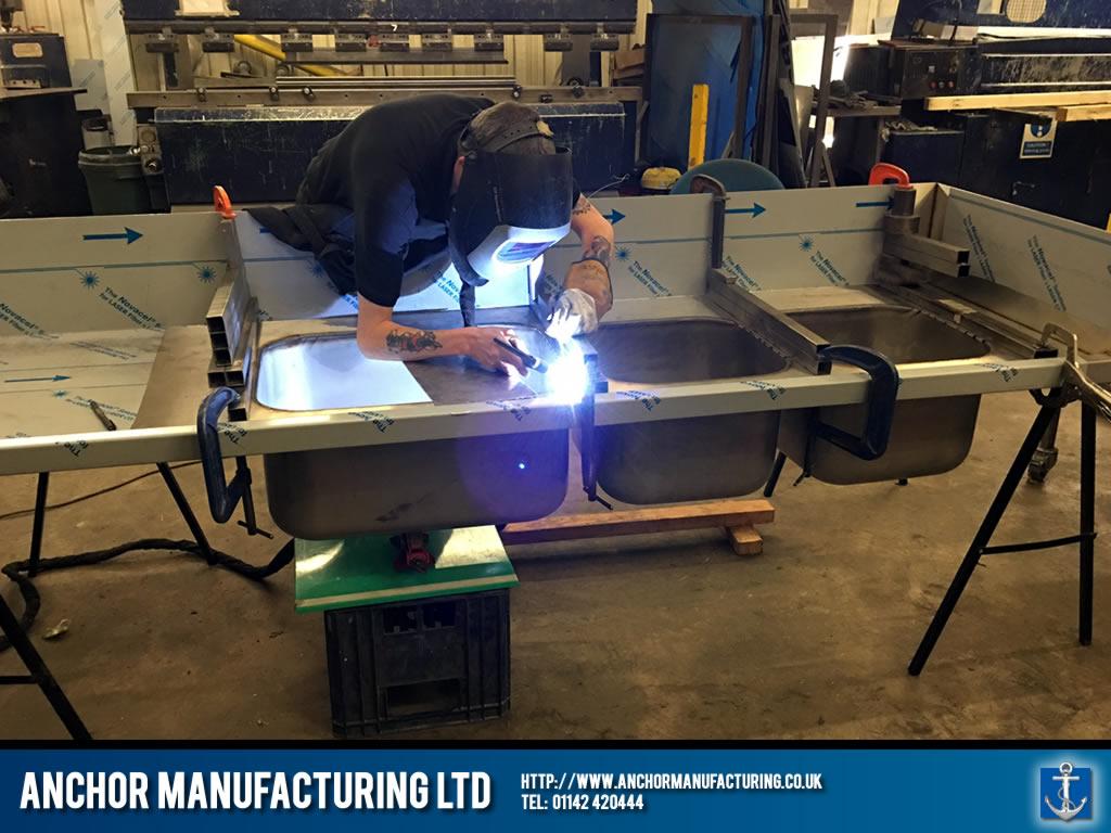 Stainless Steel Sink Welding Anchor Manufacturing Ltd